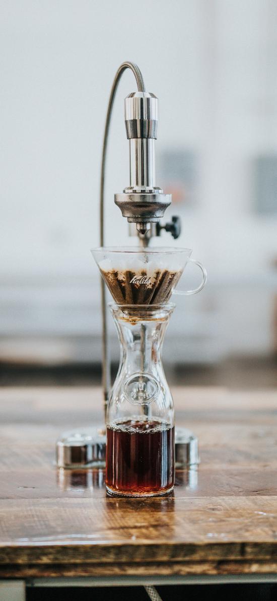 咖啡壶 滴漏 柑橘 咖啡