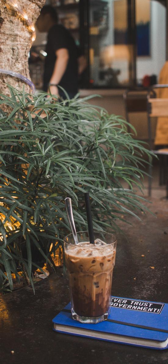 咖啡 美式 笔记本 静物