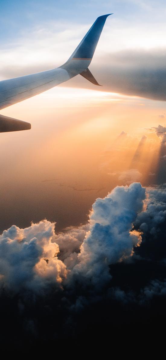 飞机 天空 云端 航空 飞行