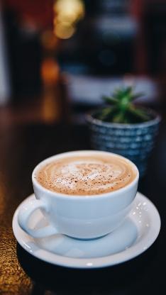 咖啡 拉花 杯具 饮品