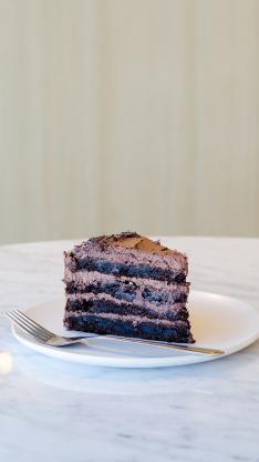 蛋糕 奶油 叉 甜品 热量