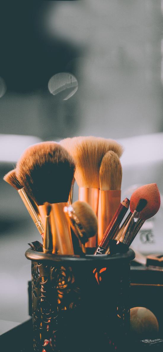 化妆刷 化妆工具 粉扑