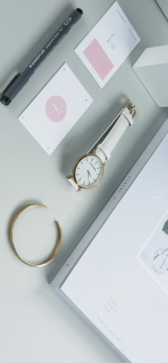 静物 手表 笔 摆件 手环