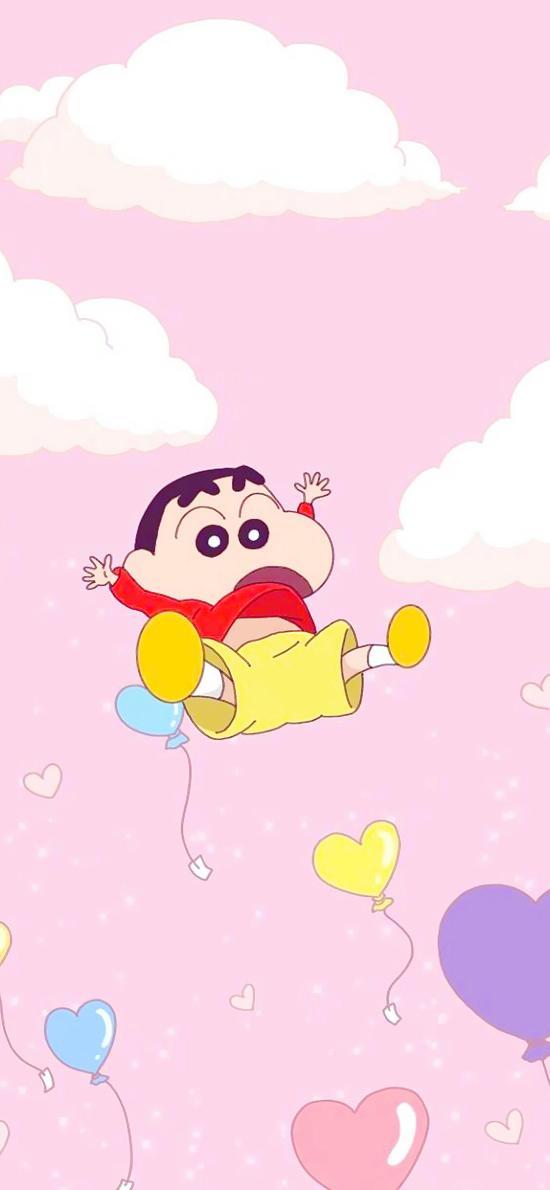 空中 手绘 创意 气球 梦幻