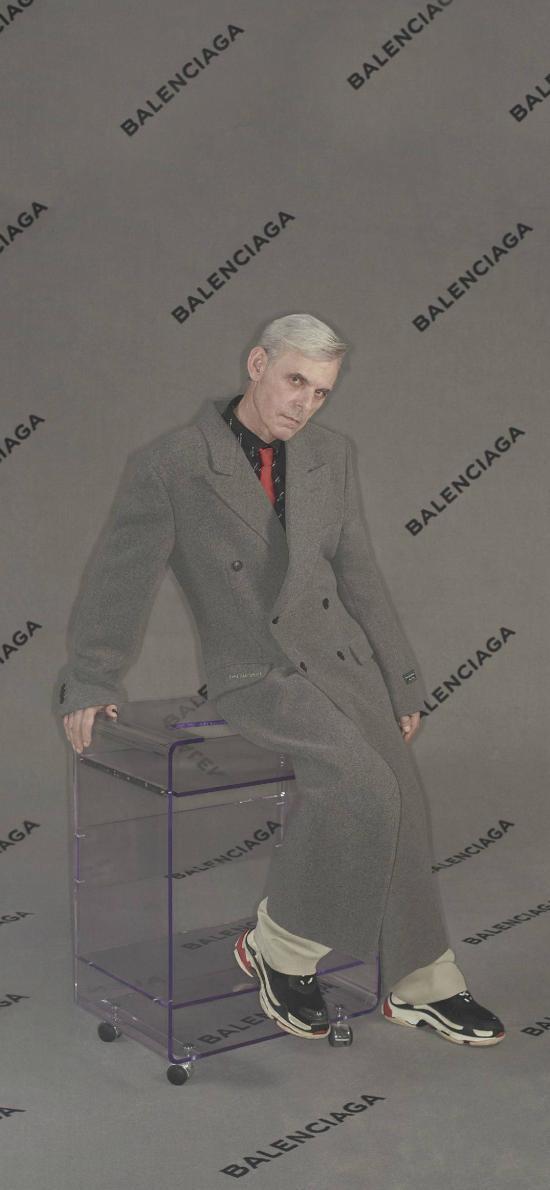 Balenciaga 巴黎世家 奢侈品 服饰 模特