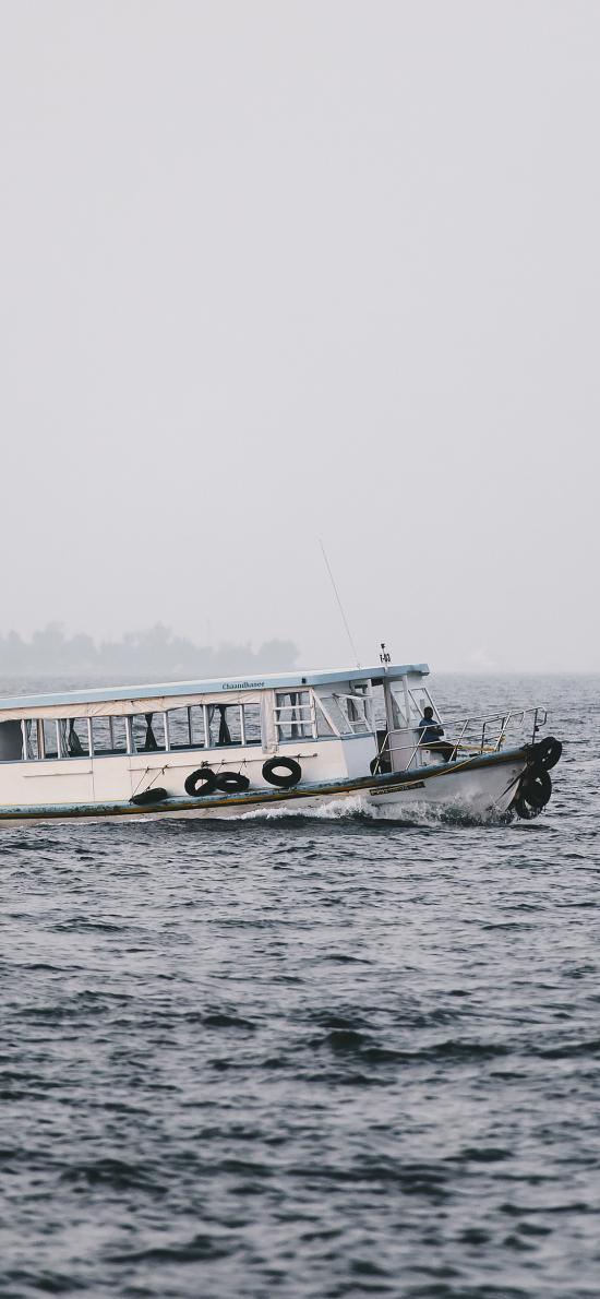 大海 船 海面 航海 航行