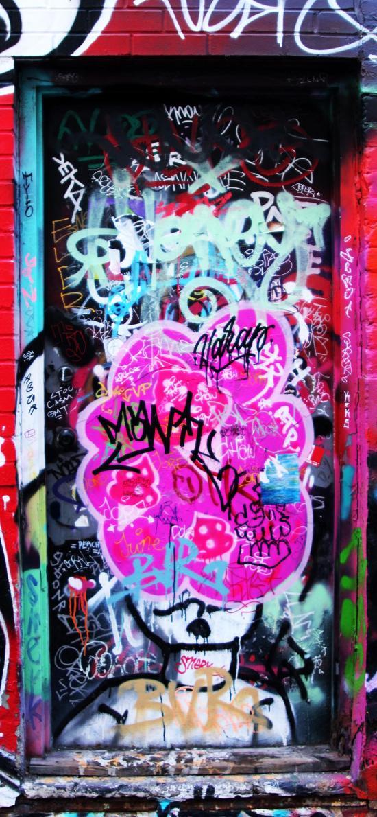 街头涂鸦 潮流 色彩