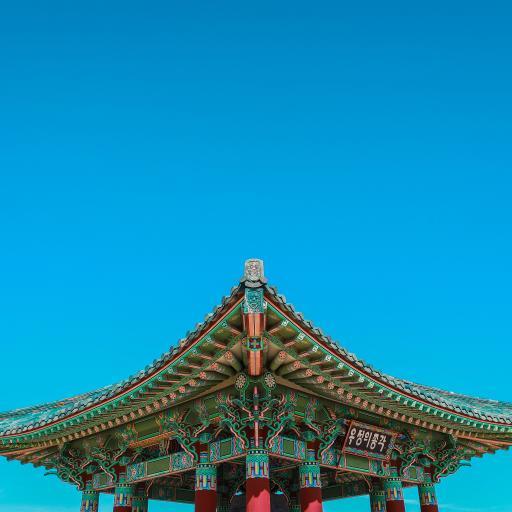 屋檐 建筑 设计 天空 蔚蓝
