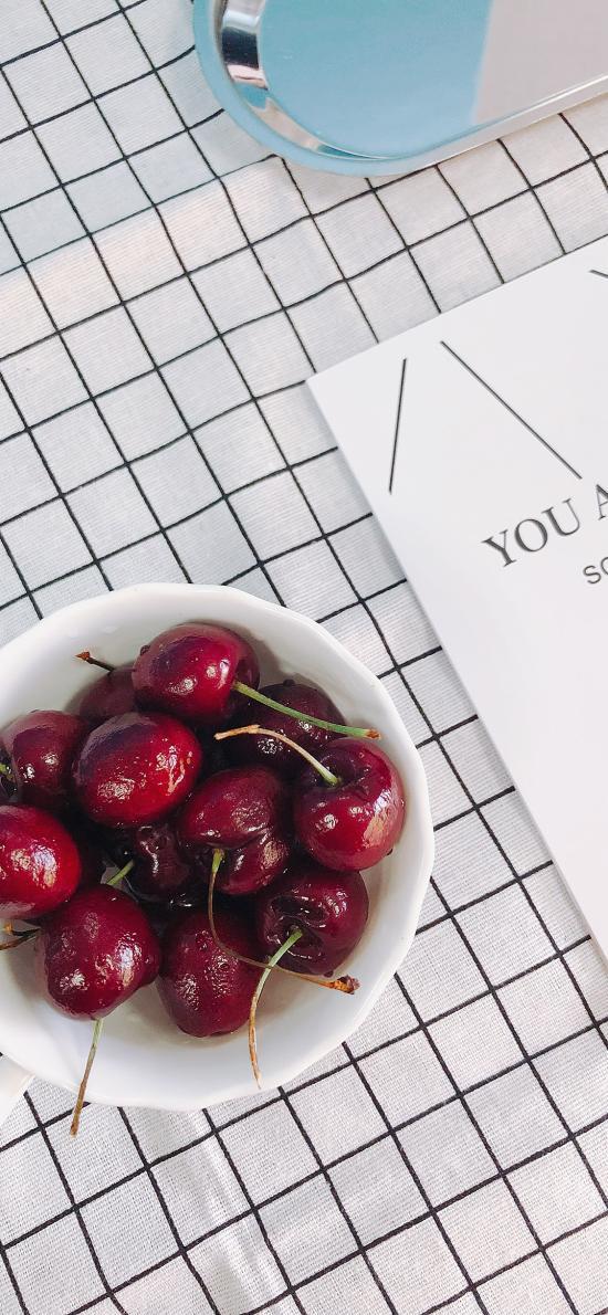 车厘子 静物 杂志 水果