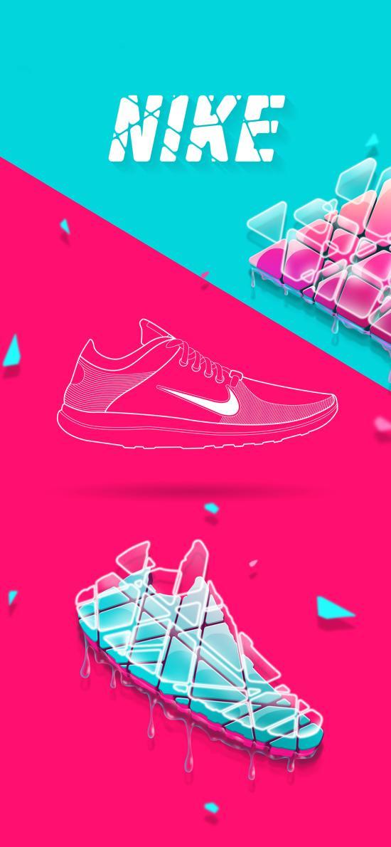 耐克 Nike 运动鞋 球鞋 品牌 色彩 炫酷