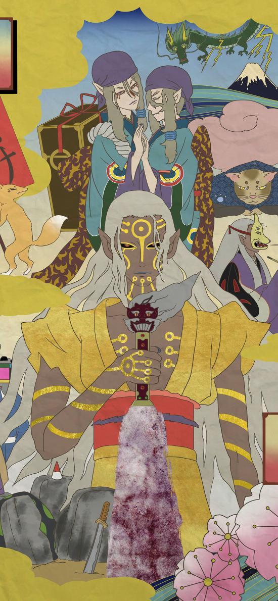 怪化猫 日本 漫画 卖药郎 怪谈