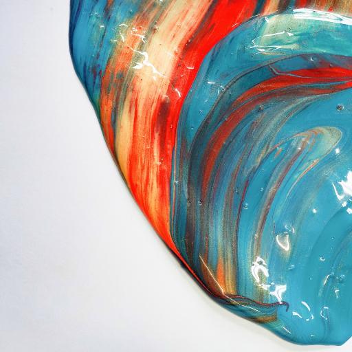 创意 水彩 混合 丙烯