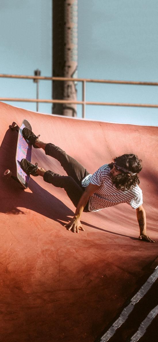 休闲运动 滑板 欧美