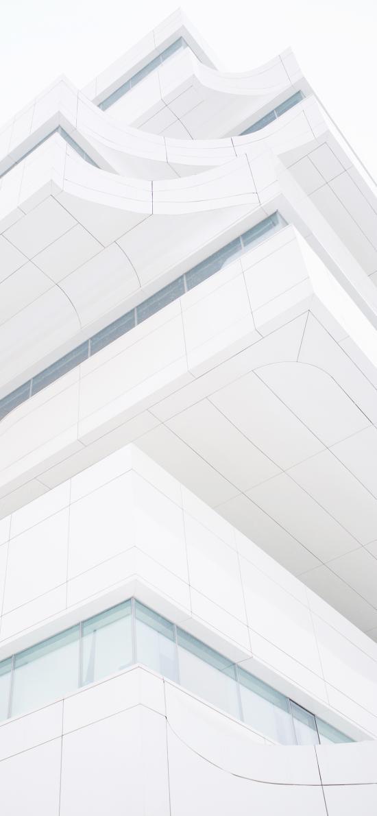 建筑 白色 现在 简约 楼房