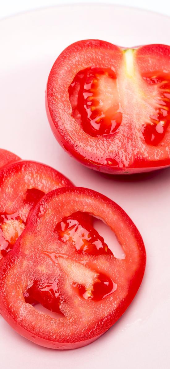 西红柿 番茄 切片 水果
