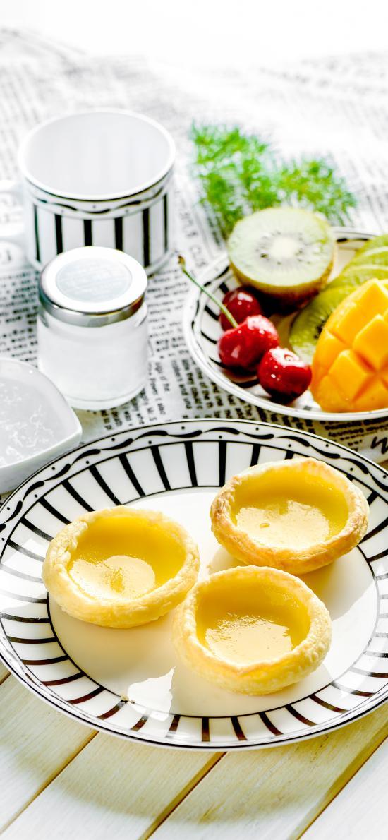 蛋挞 水果 燕窝 芒果 营养