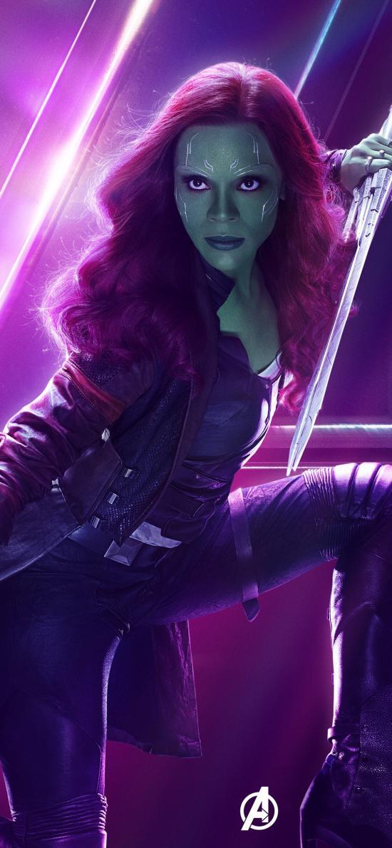 卡魔拉 复仇者联盟3 无限战争 电影 超级英雄 欧美 漫威