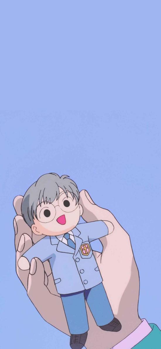 日系 动漫 男孩 小正太 迷你