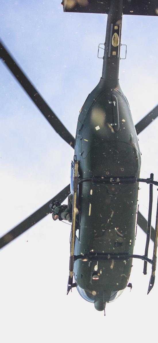 直升机 螺旋桨 飞机
