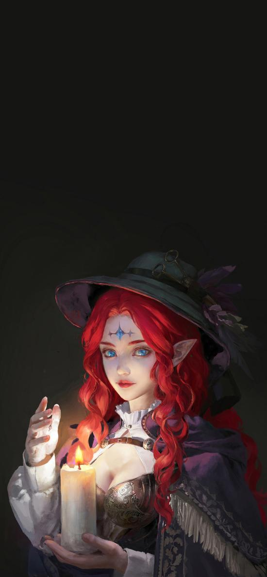 游戏角色 巫师 CG插画