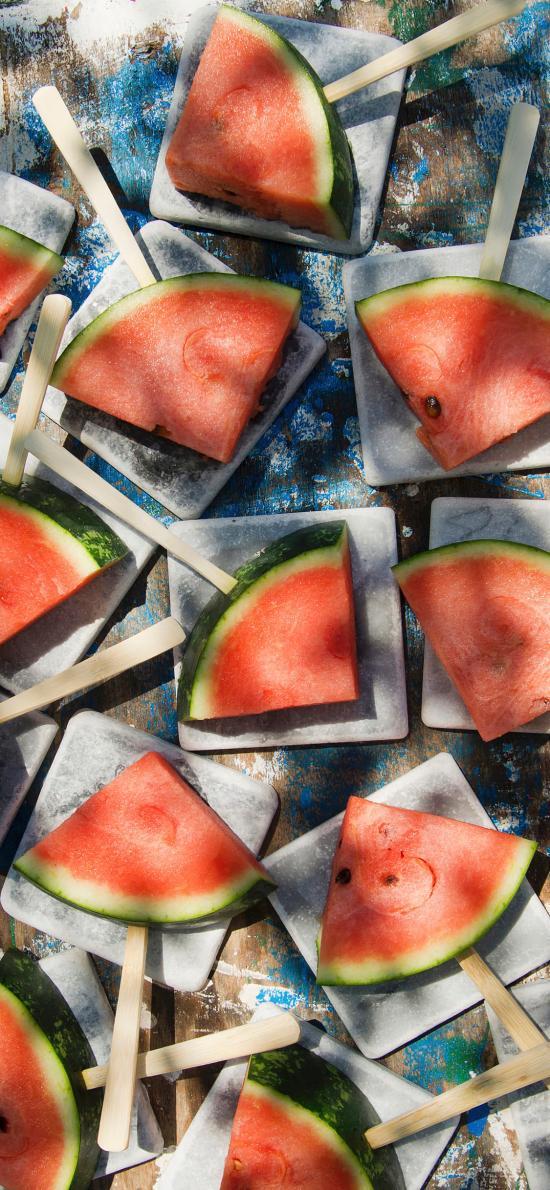 西瓜 夏季 解暑 水果 切片