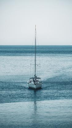 大海 船只 行驶