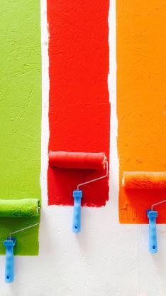 彩绘 粉刷 墙壁 色彩