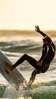 冲浪 海浪 冲浪板 休闲 帅气