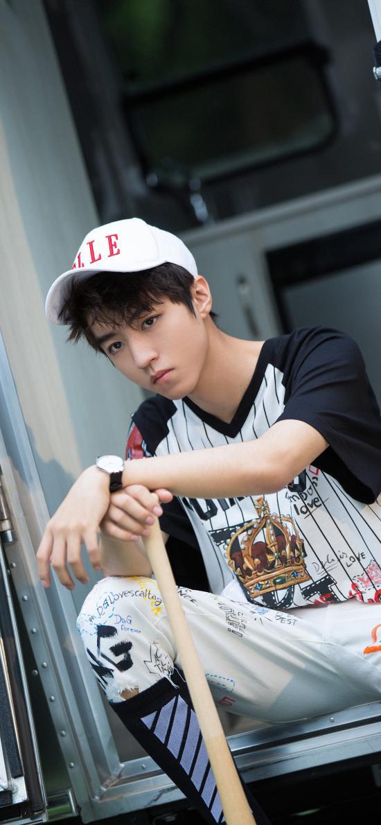 王俊凯 歌手 TFBOYS 演员 明星 棒球 运动风