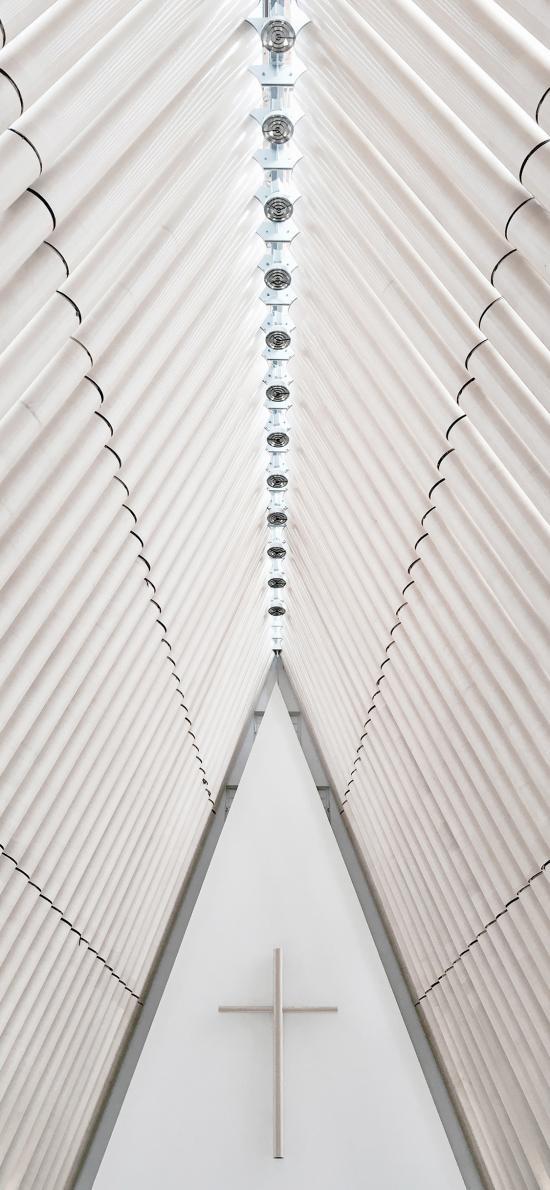 建筑 现代 设计 教堂 十字架 基督