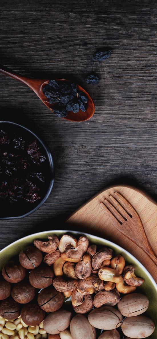 坚果 腰果 干果 营养 蓝莓