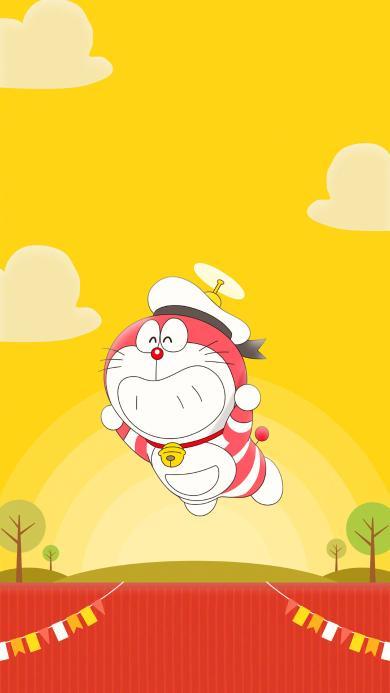 哆啦A梦 大雄的金银岛 带我回家 动画片 卡通 电影 海报 叮当猫 飞