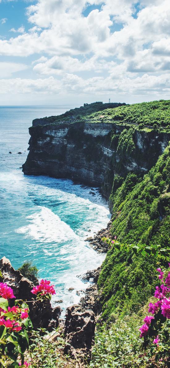海岸 海景 海浪 峭壁