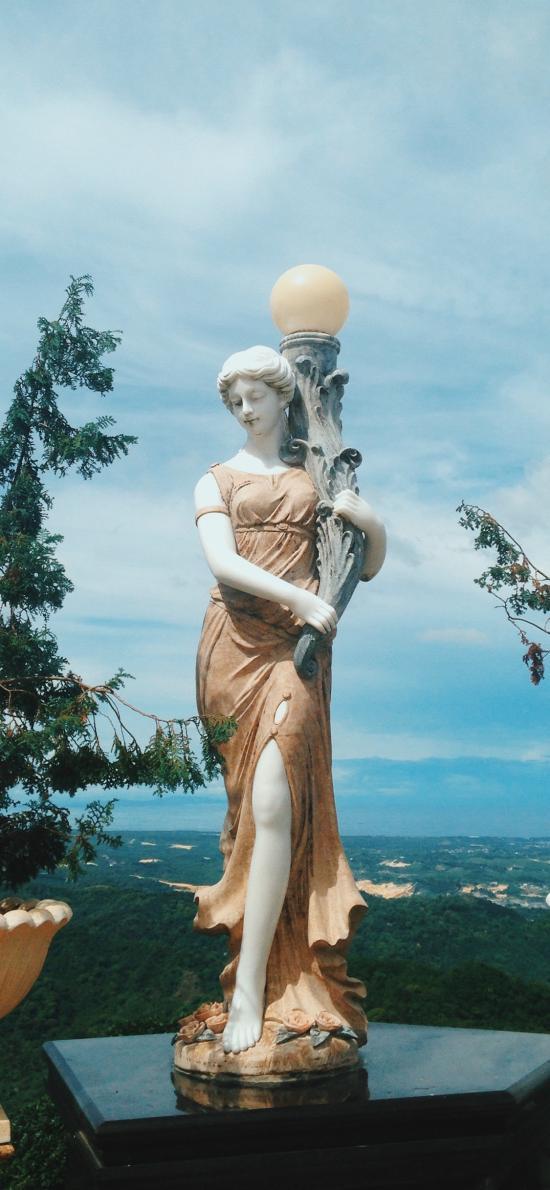 雕像 工艺 摆摄 观赏