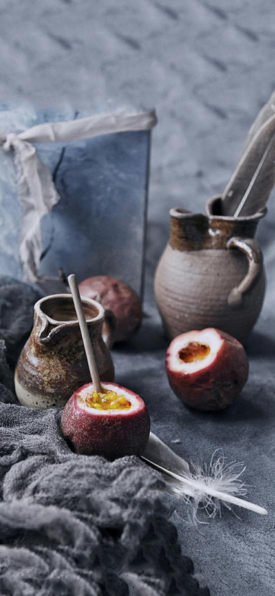 水果 百香果 维C 罐子