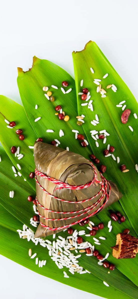 粽子 红枣 端午 糯米 竹叶