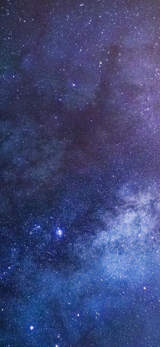 星空 璀璨 夜晚 星河