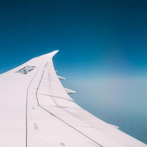 机翼 蓝天 蔚蓝 高空