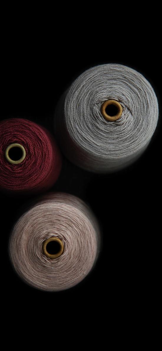 针线 线团 色彩 毛线