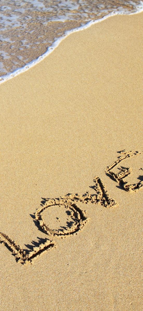 love 爱情 沙滩 英文 浪漫