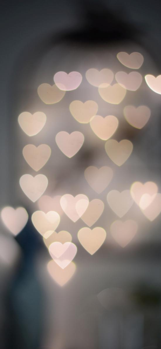 爱心 密集 情感 朦胧