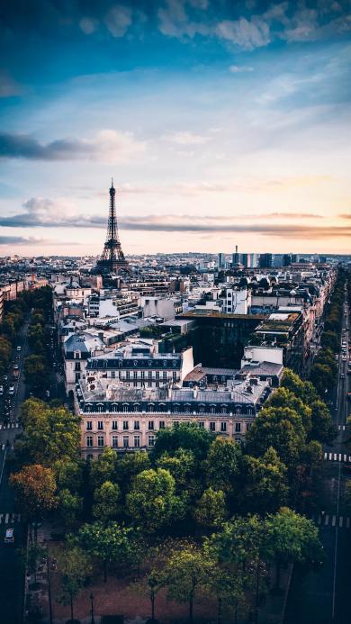 法国 巴黎 城市 建筑 埃菲尔铁塔