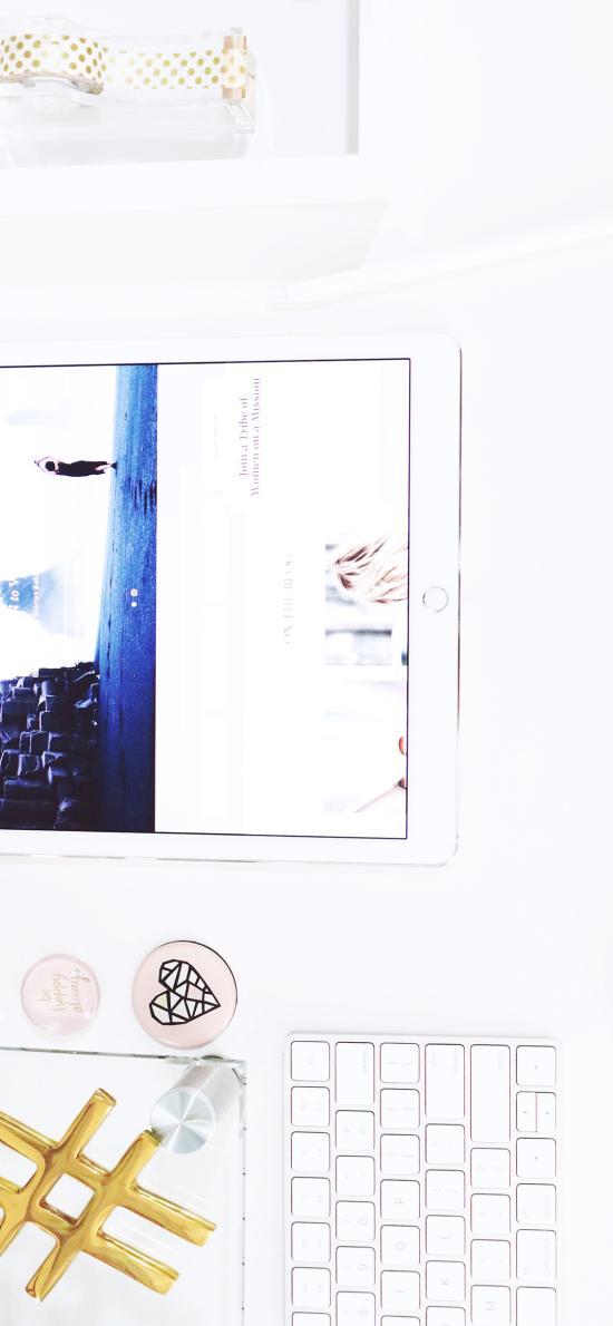 科技 平板 iPad 白色