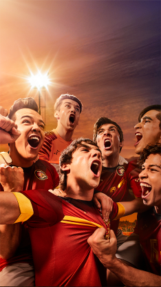 欢呼 呐喊 庆祝 足球 运动 比赛