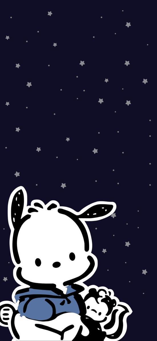 帕恰狗 pochacco 卡通 可爱 星星