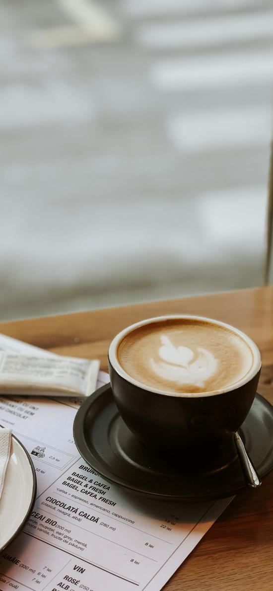 咖啡 杯具 拉花 桌台