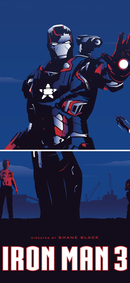 复仇者联盟 超级英雄 漫威 欧美 蓝色 钢铁侠
