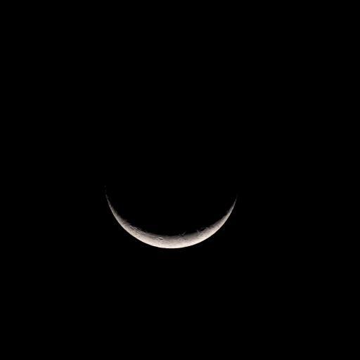 月亮 夜晚 星球 弯月