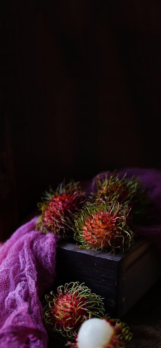 水果 红毛丹 酸甜