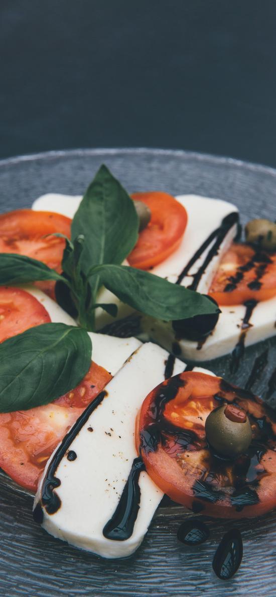 番茄 橄榄 酱汁 简单